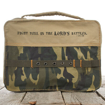 Camouflage Bible Cover, Large