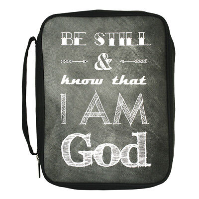 Be Still and Know That I Am God Bible Cover, Large