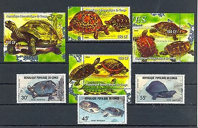 France Colony Rep Congo  7  St.  ** Mnh  Vf  -Turtle Tortue Tortoise-  @191