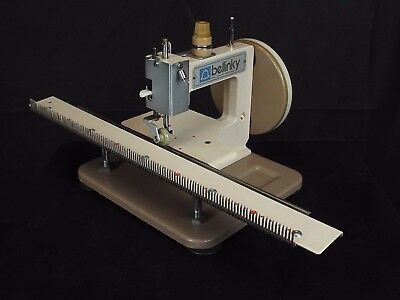 bellinky Manual Flat Bed Straight Linker Knitting Machine with Comb by Belna
