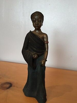 "Soul Journeys Maasai Figure Ornament - Nena - ""Sweet Melody"""