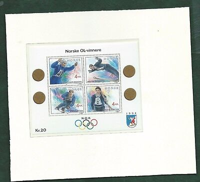 Norway Norge Winter Olympics stamps and Minisheets MNH Lillehammer