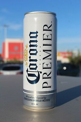 New 12 oz (355 ML) Corona Premium beer can exported from Mexico Mexican cans