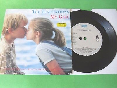 "The Temptations - My Girl  7""  (91 Reissue)  Vg"