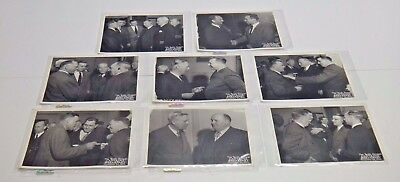 8 Original 1944 Ohio State Football Photos Les Horvath Signed by Photographer