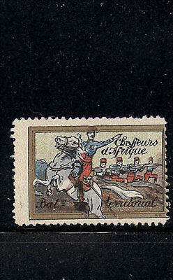Delandre France Chasseurs Cavalry Africa Territorial WWI military Cinderella