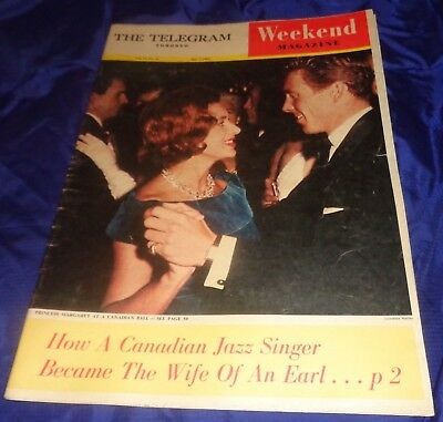 SE834 Vtg The Toronto ON Telegram Weekly Magazine Newspaper April 7 1962