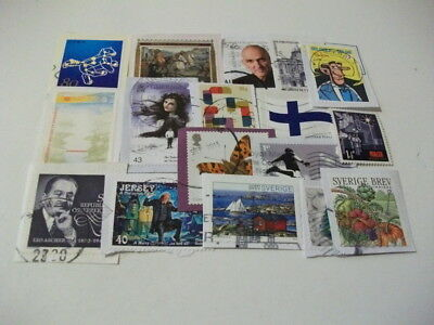 World Charity Kiloware Good Basic Mixture Includes Recent Stamps 430 Grams