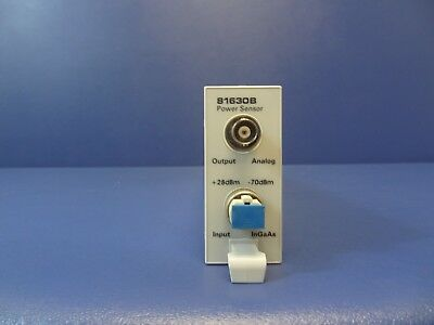Keysight (Agilent) Technologies 81630B High Power Optical Sensor for 8163A,8164A