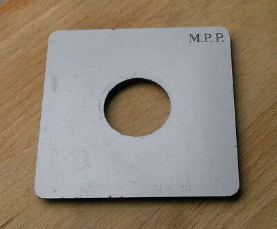 genuine MPP mk8 VIII fit  lens board panel with copal compur 0 hole 32.9mm