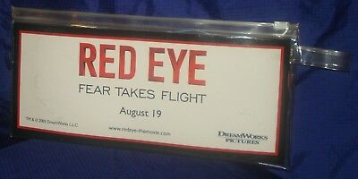 BJ107 Red Eye Movie Promo Satin Sleeping Mask