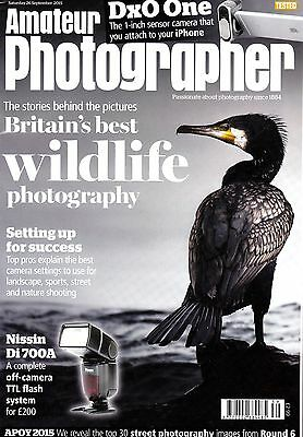 Amateur Photographer magazine with Dx0 One iPhone camera test  26th Sept 2015