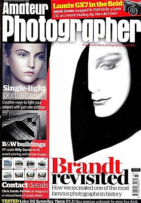 Amateur Photographer magazine with  Leica 15mm F1.7   tested   13th Sept  2014
