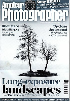 Amateur Photographer magazine with Sony DSC-RX10 II camera test   29th Aug  2015