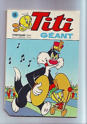 Titi geant 15 / 1975 sagedition -