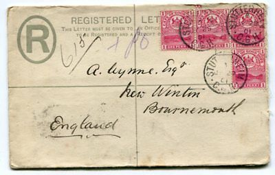CAPE of GOOD HOPE 1901 COVER to England