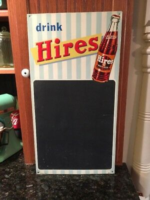 Hires Menu Board