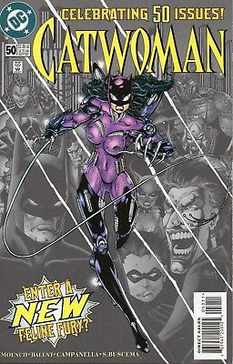 Catwoman #50 (NM)`97 Moench/ Balent