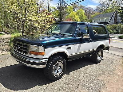 1995 Ford Bronco Only 86k Actual Miles! Utah Rust Free Survivor! 1995 Bronco ONLY 86k Actual Miles! Utah Survivor! 5.8 liter Tow Package