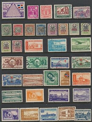 Dominican Republic Stamps - Singles - Mint & Used - Lot F-3