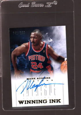2012 Panini Intrigue Winning Ink Mark Aguirre Autograph #/299 *69350
