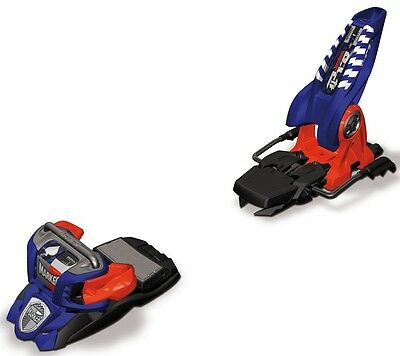 Marker Jester 18 Pro Ski Bindings, 110mm, Blue/Orange