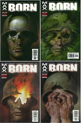 Born (2003 Punisher MAX) #1-4