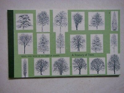 GB Prestige Stamp Booklet 2000 - A Treasury of Trees DX26.
