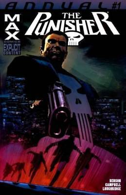 The Punisher (2004 7th Series) Max Annual #1 'LONG COLD DARK'