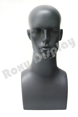 Plastic Male Mannequin Head Bust Wig Hat Jewelry Display #ERAG-PS