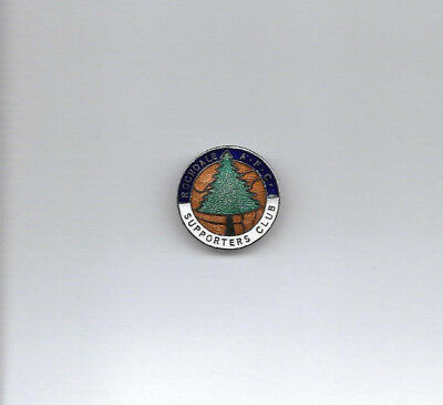Vintage Football Badge - ROCHDALE AFC SUPPORTERS CLUB (rare blue top variation)
