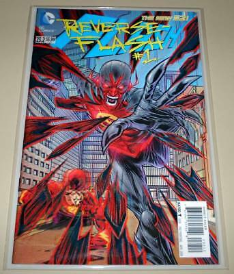 The FLASH # 23.2  DC Comic  NM April 2014  3D LENTICULAR COVER  2nd PRINTING