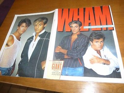 wham in their own words photo book george michael 1984 official fan club item