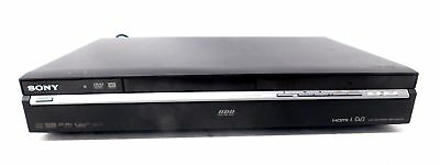SONY RDR-HXD770 DVD Recorder With 120GB Hard Drive Freeview Black - H59