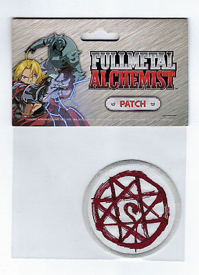 Fullmetal Alchemist Al's Blood Mark Embroidered Patch NEW!