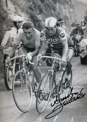 RAYMOND POULIDOR - The eternal second, signed photo