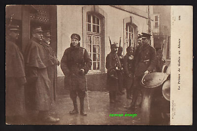 PRINCE OF WALES (Edward VIII) WW1 visit to Alsace