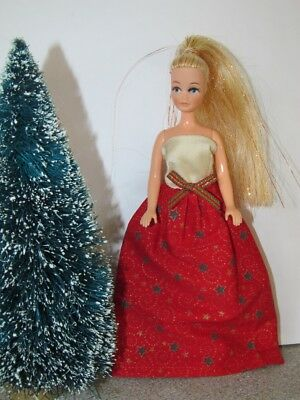 Christmas Ballgown for Palitoy Pippa/Dawn Dolls **CHOICE OF 4 SEE ALL PICS **