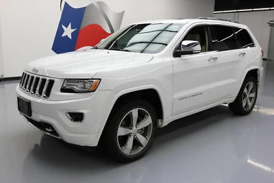 2014 Jeep Grand Cherokee Overland Sport Utility 4-Door 2014 JEEP GRAND CHEROKEE OVERLAND 4X4 HEMI PANO NAV 39K #523421 Texas Direct