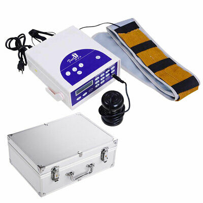 50W Detox Foot Bath Spa Machine Kit Cell Ion Ionic Array LCD Display w/ Case