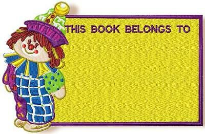 Little Clowns 10 Machine Embroidery Designs Cd