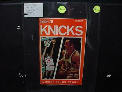 NobleSpirit NO RESERVE {3970} 1969-70 N.Y. Nicks Yearbook Madison Square Garden