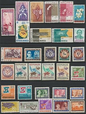 Indonesia Stamps - Singles - Mint & Used - Lot F-11