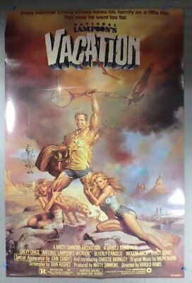 Mint Original Vintage 1983 National Lampoon's Vacation Movie Poster