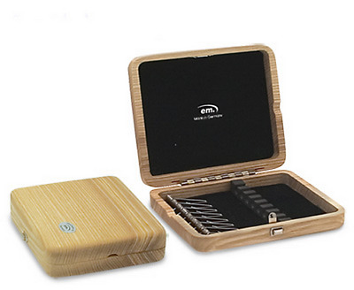 Wooden Oboe Reed Case 8 Reed Capacity - Natural