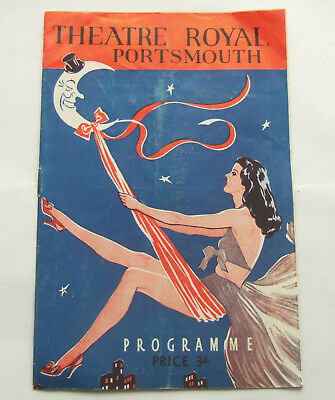 Theatre Royal Portsmouth, 1954 Programme for The Folies Bergere Revue