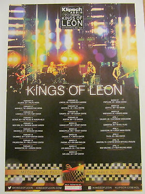 Kings of Leon, Full Page Promotional Ad, Tour