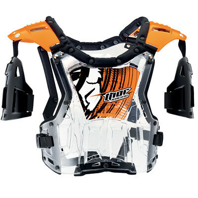 Thor Brustpanzer Quadrant fluo orange Enduro Quad Motocross MX Panzer