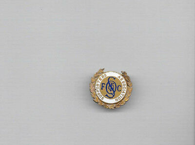 Vintage Football Badge - QUEEN OF THE SOUTH SUPPORTERS ASSOCIATION
