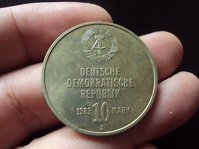 Germany 10 Mark 1983 A Au Coin #4324